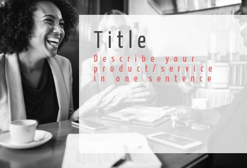 Business Facebook post cover, 2 women are laughing