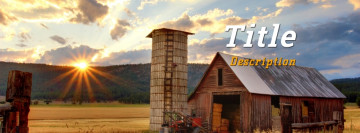 Country Facebook cover template photo