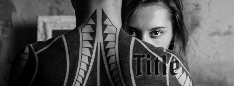 Tattoo Facebook cover photo template