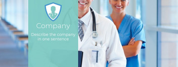 Medicine Facebook cover photo template