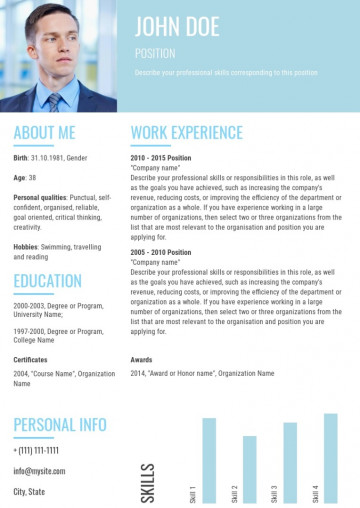 Business analyst resume, cv sample, template