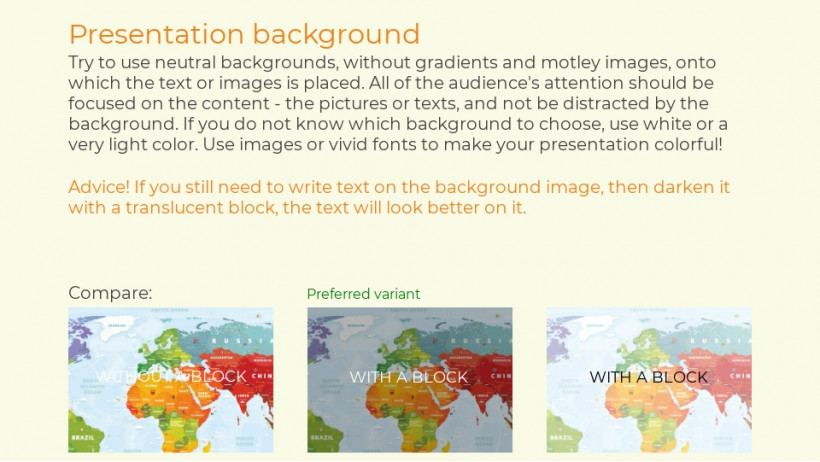 Geography lesson presentation sample