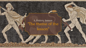 History lesson presentation sample