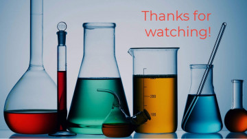 Chemistry lesson presentation sample